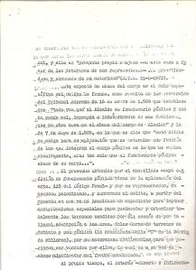 30 de Julio de 1975. 7 de 13. Querella al alcalde de Camas formulada por varios vecinos, por los delitos de fraude y falsedad, relacionada con las anomalías en las Bdas. Mallorca, La Mallorquina y otros