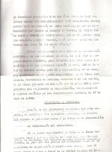 30 de Julio de 1975. 10 de 13. Querella al alcalde de Camas formulada por varios vecinos, por los delitos de fraude y falsedad, relacionada con las anomalías en las Bdas. Mallorca, La Mallorquina y otros