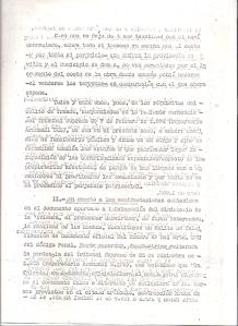 30 de Julio de 1975. 9 de 13. Querella al alcalde de Camas formulada por varios vecinos, por los delitos de fraude y falsedad, relacionada con las anomalías en las Bdas. Mallorca, La Mallorquina y otros