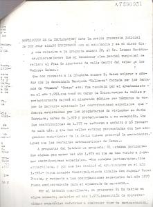4 de Octubre de 1976. Ampliación de las respuestas del querellado, Sr. Lozano Meridiano, a las preguntas del letrado D. Juan Carlos Aguilar Moreno en presencia del Juez de Instrucción nº 6 de Sevilla.2 de 4