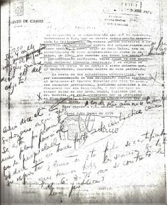 4 de Junio de 1974. Escrito del Alcalde, Juan Lozano Meridiano, a la Delegación del Ministerio de la Vivienda en el que se comunica la inexistencia de Plan de Ordenación Urbana en la B arriada La Mallorquina.
