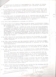 4 de Octubre de 1976. Respuestas del querellado, Sr. Lozano Meridiano, a las preguntas del letrado D. Juan Carlos Aguilar Moreno en presencia del Juez de Instrucción nº 6 de Sevilla.2 de 4