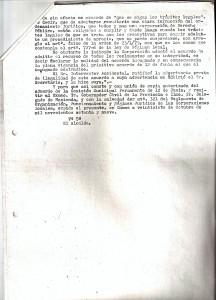 27 de Enero de 1977. Respuesta al Juzgado sobre la forma de financiación de las Obras en la Bda. Mallorca.2 de 2