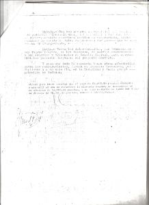23 de Marzo de 1965. Contrato de compraventa de la calle I de la Barrida Mallorca
