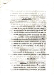 21 de Octubre de 1977. Recurso de los vecinos de la Barriada Mallorca al Tribunal Contencioso Administrativo. Pagina primera21 de Octubre de 1977.