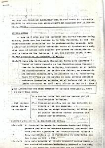 22 de Febrero de 1982. Aclaraciones del Grupo de Concejales del PSA-PA sobre los acuerdos del Ayuntamiento relativos a la Barriada Mallorca